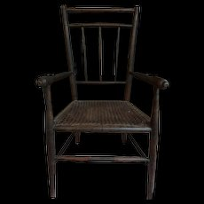 Antique large doll chair