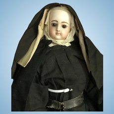 Very beautiful nun doll from French factory jumeau