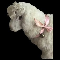 Beautiful sheep toy