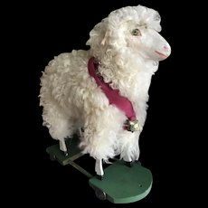 Sheep on wheels