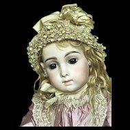 Sweet shy pale Jumeau Carrier-Belleuse so called Triste