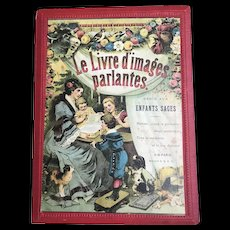 "Very rare french book "" Le livre d'images parlantes"""