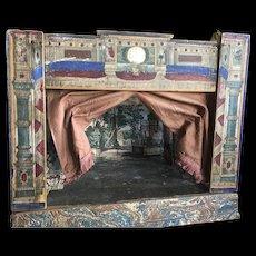 Antique italian opera Theather toy