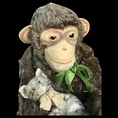 Steiff Monkey with most beautiful and sweet expression