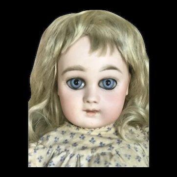 Beautiful sweet and shy bebe Jumeau portrait