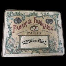 """Beautiful ca 1890 """"service de table"""""""