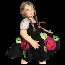 Very cute antique Lenci Lucia face