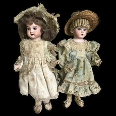 Rare couple of Candy container dolls