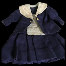 Bebe' jumeau mariner dress size 8