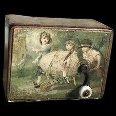So pretty Victorian music box