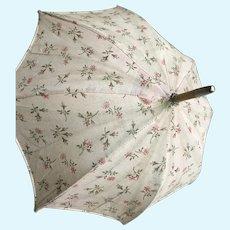 Little rose flowers Jumeau bebe umbrella