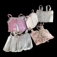 Lot of 5 French bebe Corsets