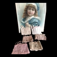 Lot of 6 French bebe CORSETS