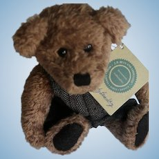 Freddy Beanberg Boyds Bears with Bearwear, 9 1/2 IN, Hangtags, Label, Signed
