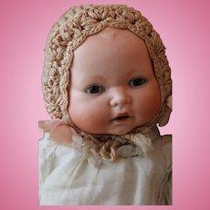 Century Doll Co. Baby Doll, 15 IN, H Steiner Antique German Bisque Doll Baby