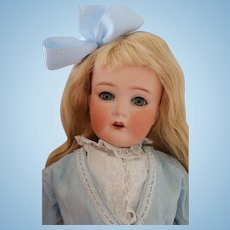 Cuno, Otto, Dressel Antique Doll w Flapper Body, 22 IN, Antique German Doll