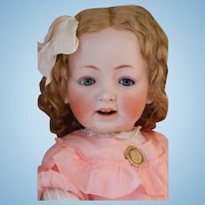 JDK 226 Toddler Antique German Bisque Doll 25 IN Antique Doll FABULOUS!!
