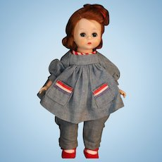 Madame Alexander Madeline FAO Schwarz 1953 RARE Doll Straight Leg Walker