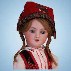 Simon & Halbig 1339 Antique German Bisque Dolls, 18 IN, Louis Lindner & Sons