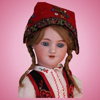 Simon & Halbig 1339 Antique German Bisque Dolls, 18 IN, Louis Lindner & Sons