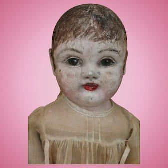 Philadelphia / J B Sheppard Baby 21 Inches Antique Cloth Doll