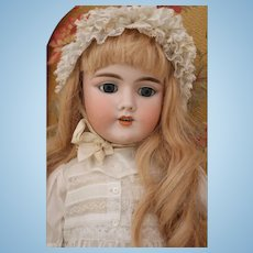 "Antique Handwerck 109 German Bisque Doll, 24.5"", Antique Heinrich Handwerck Doll"