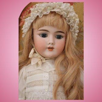"""Antique Handwerck 109 German Bisque Doll, 24.5"""", Antique Heinrich Handwerck Doll"""