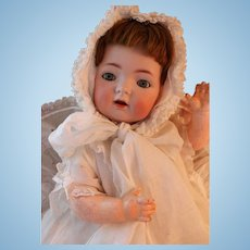 Antique Kammer & Reinhardt 121 German Bisque Doll, 15 IN, Antique Bisque Doll