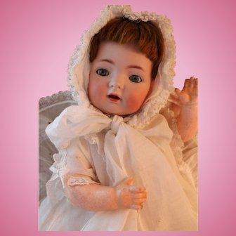 Antique Kammer & Reinhardt 121 German Bisque Doll, 15 IN, Antique Bisque Doll