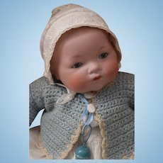 Antique Armand Marseille 341 German Bisque Doll, 16 IN, Antique Bisque Doll
