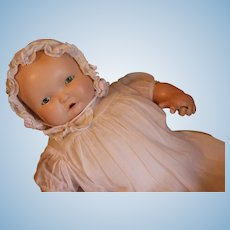 Vintage Effanbee Lambkins Doll 16 IN, 1930's Composition Doll, Hard to Find Doll