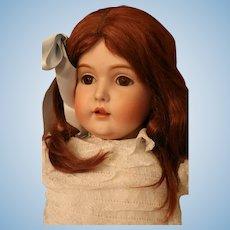 "Antique Kestner 171 German Bisque Doll Large 30"" Antique Doll Layers of Clothing"