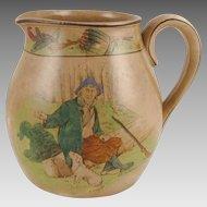 Buffalo Pottery Rip Van Winkle Jug - 1907 Larkin Soap Premium
