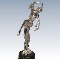 Dancing Figure of Sterling Silver - Ari D. Norman Hallmark 1990