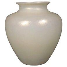 Steuben Ivrene Art Glass Vase