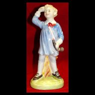 Vintage Royal Doulton bone china Little Boy Blue figurine