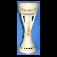 Early Vintage Weller Footed Deco Vase