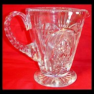 Exquisite Vintage Royal Brierley Cut Crystal Pitcher