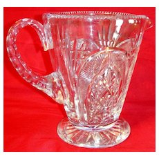 Exquisite Vintage Royal Brierley Cut Crystal Pitcher