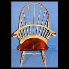 Vintage Windsor Comb Back Doll Chair