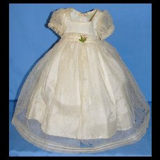 Beautiful Tagged  Madame Alexander's Princess Elizabeth Dress