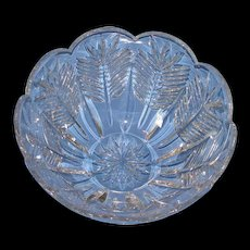 "Stunning Waterford 10-1/2"" Crystal Bowl in Original Box"