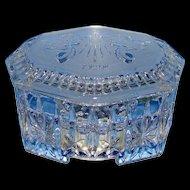 Stunning Waterford Crystal 1998 Christmas Music Box