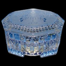Stunning Waterford Crystal 1998 Christmas Music Box