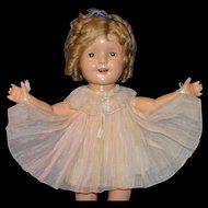 1934 Shirley Temple Tagged Pleated Party Dress From the Movie Curly Top