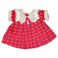 """Shirley Temple 6th Birthday Dress for 18"""" Doll - NICE!"""