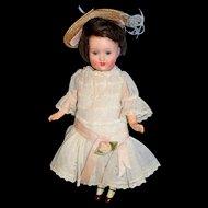 "Petite Antique 8"" Armand Marseille Doll 390"
