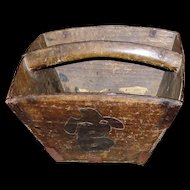 Rustic Antique Chinese Rice Box