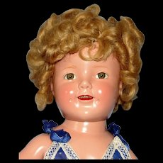 FOR NH ONLY! 1935 Composition Shirley Temple Doll in Tagged mint condition Jumper