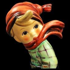 "5"" Hummel figurine ""March Winds"" Number 43, TMK 6"